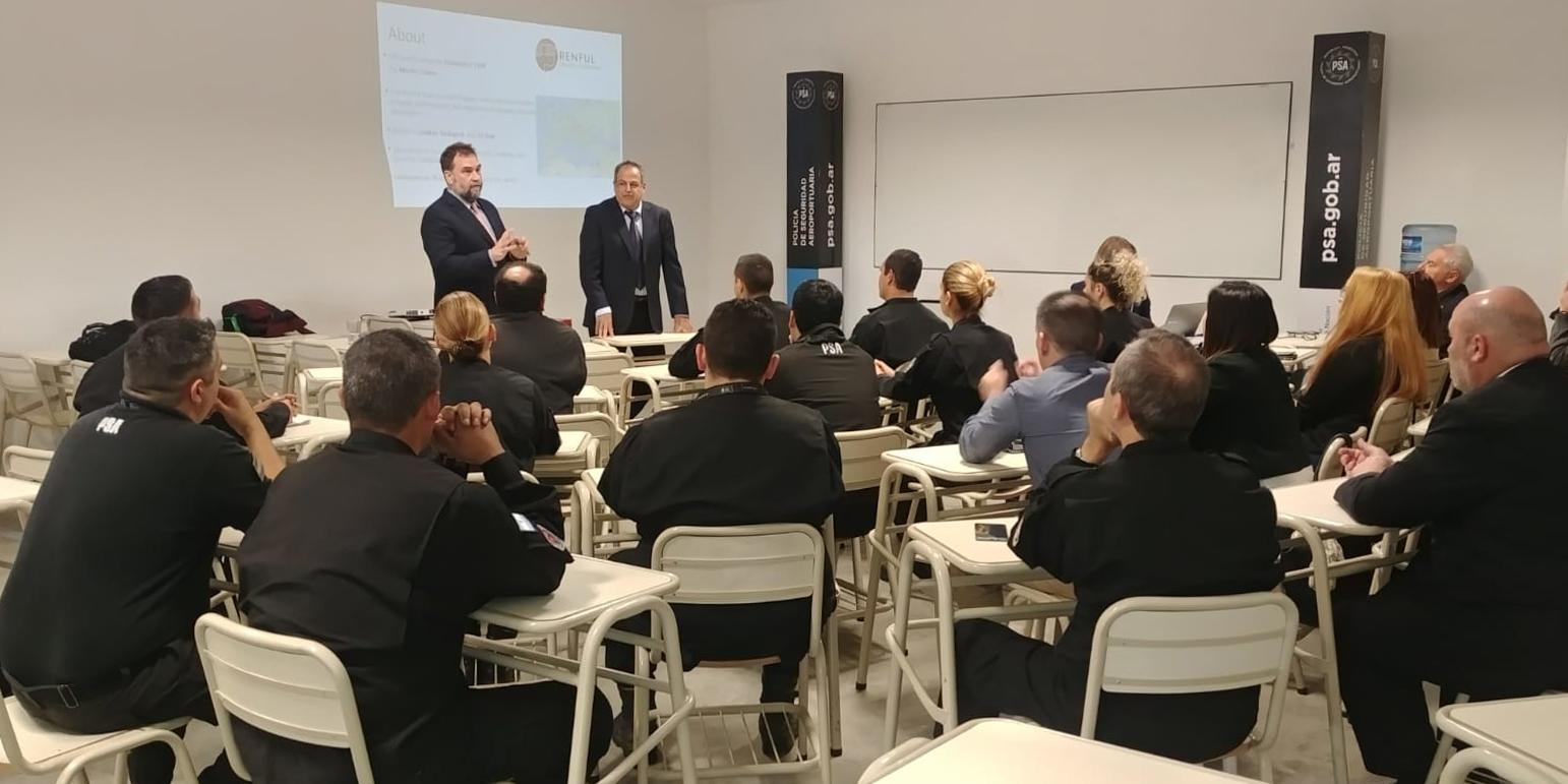 Renful Premier Technologies Open Day in Argentina a Buenos Aires per Policía de Seguridad Aeroportuaria (PSA)